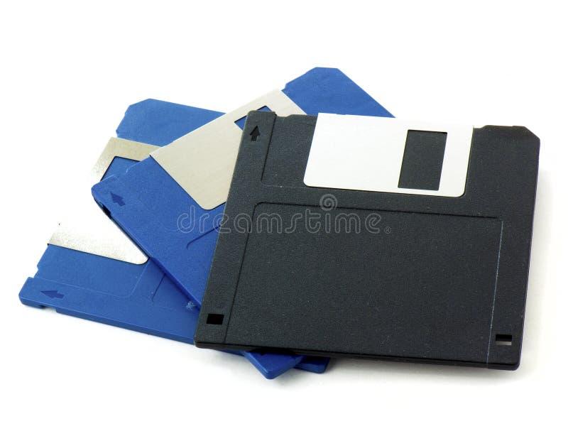 diskettt gammalt för disks royaltyfri foto