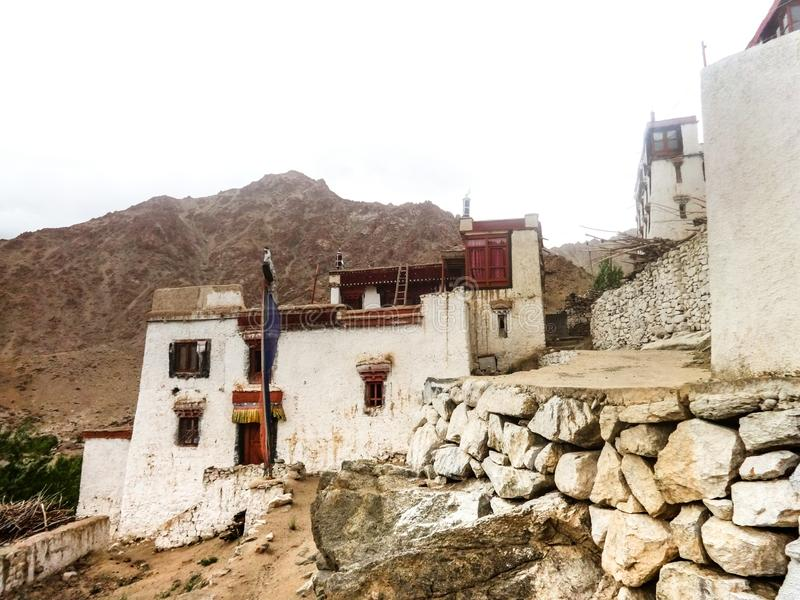 Diskit Gompa royalty free stock image