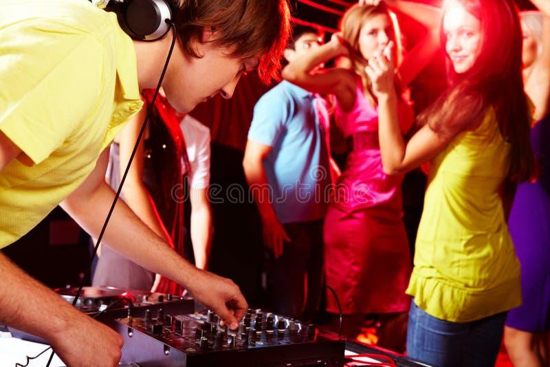 disko royaltyfri bild