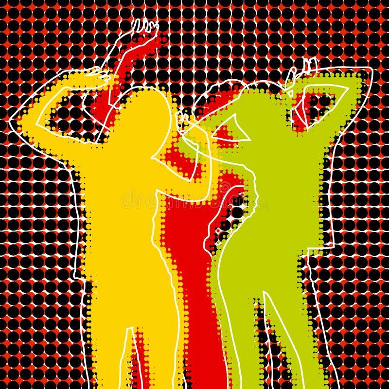 disko vektor illustrationer