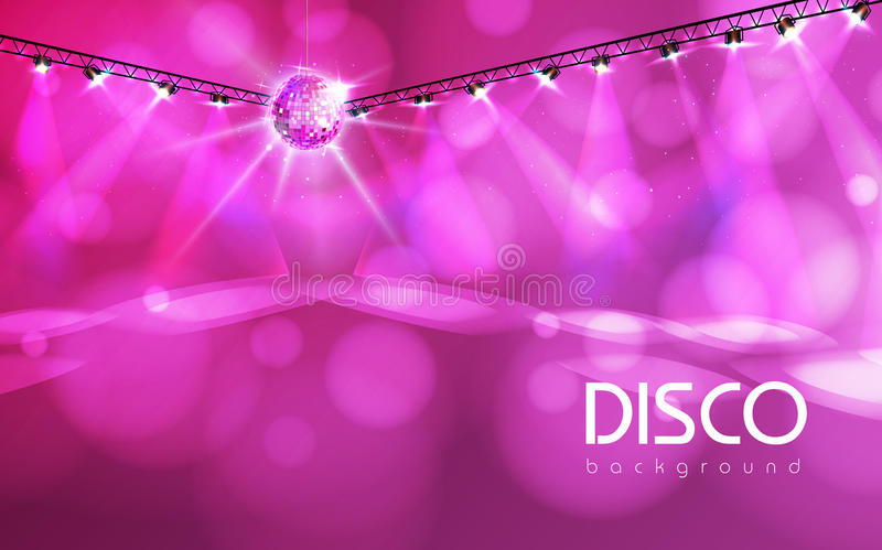 Download Diskobollbakgrund vektor illustrationer. Illustration av effekt - 78732186
