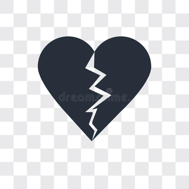 Dislike vector icon on transparent background, Dislike logo design vector illustration