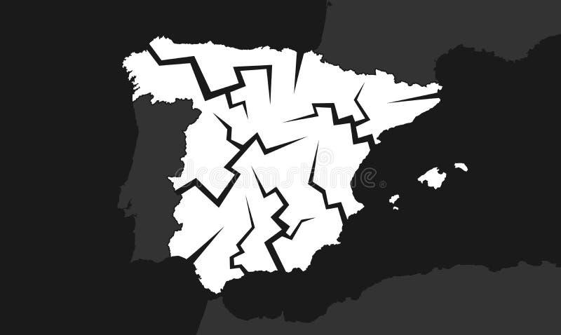 Disminución de España libre illustration