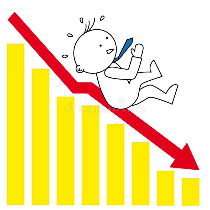 Disminución gráfica