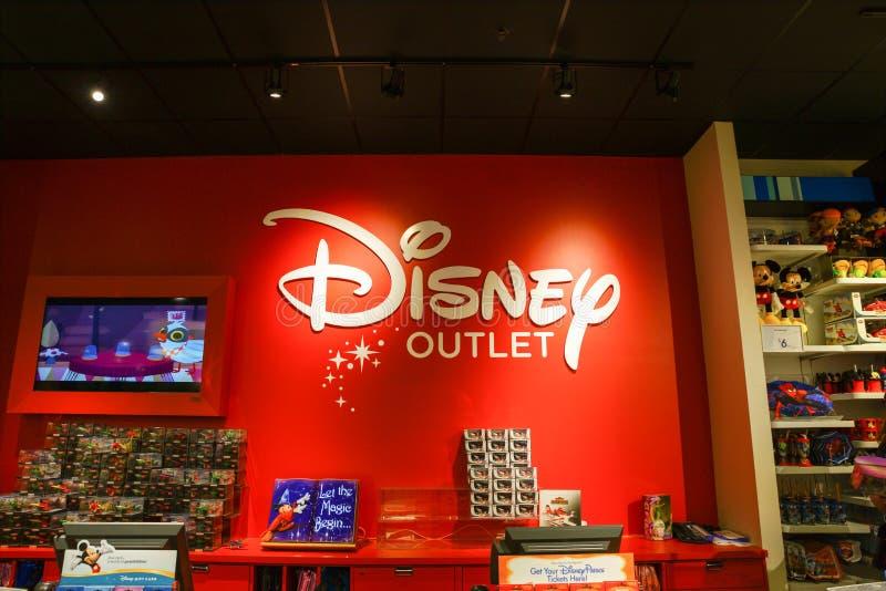 Disney-afzetopslag royalty-vrije stock afbeeldingen