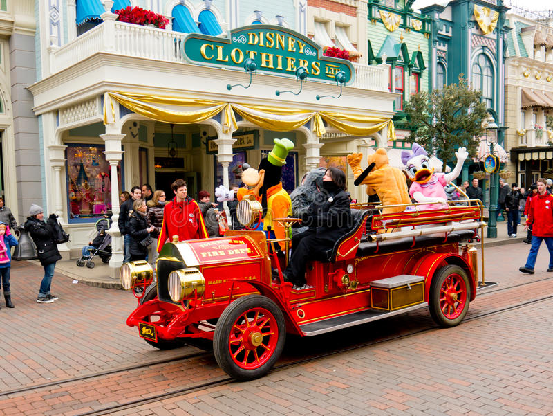 Download Disney All Star Fire Engine, Editorial Stock Image - Image: 24407414