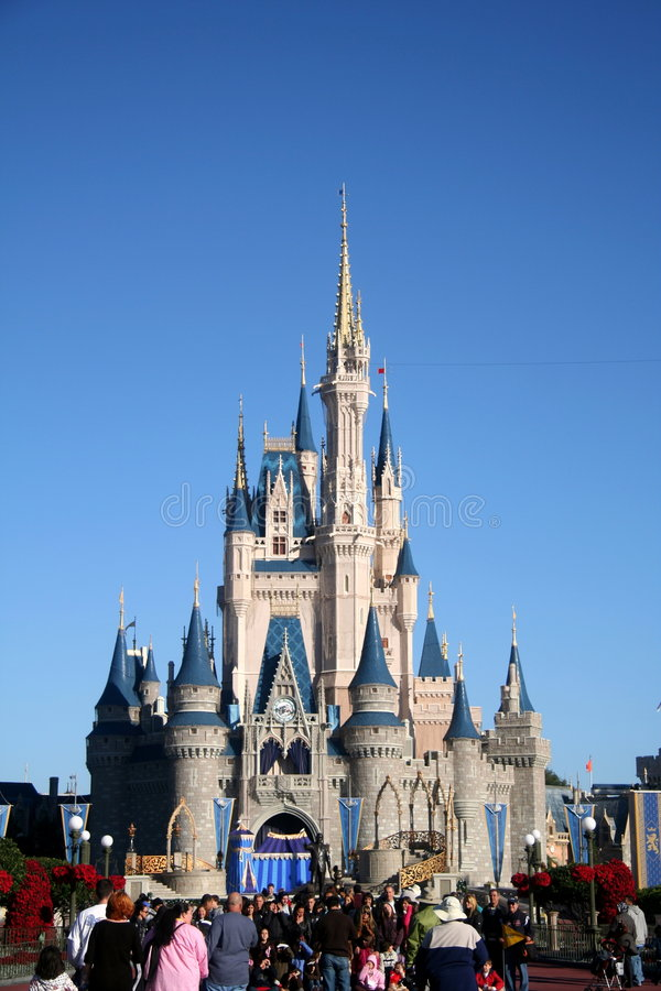 Download Disney Castle Editorial Stock Photo - Image: 7462393