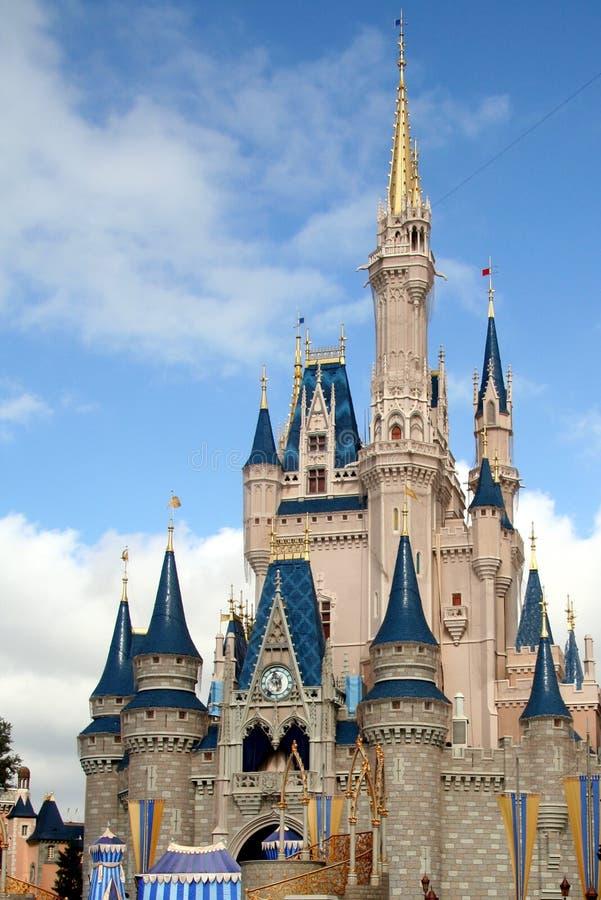 Disney Castle stock image
