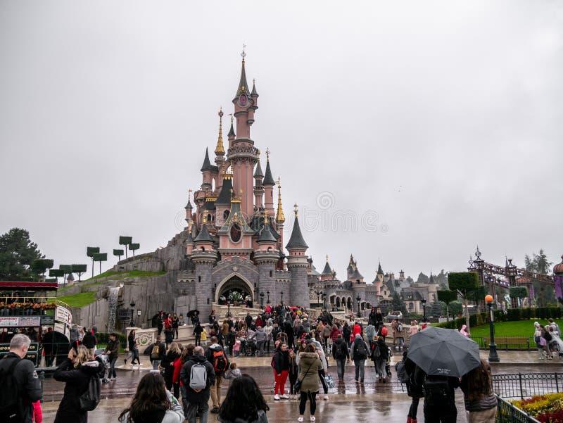 Disney Castle stock images