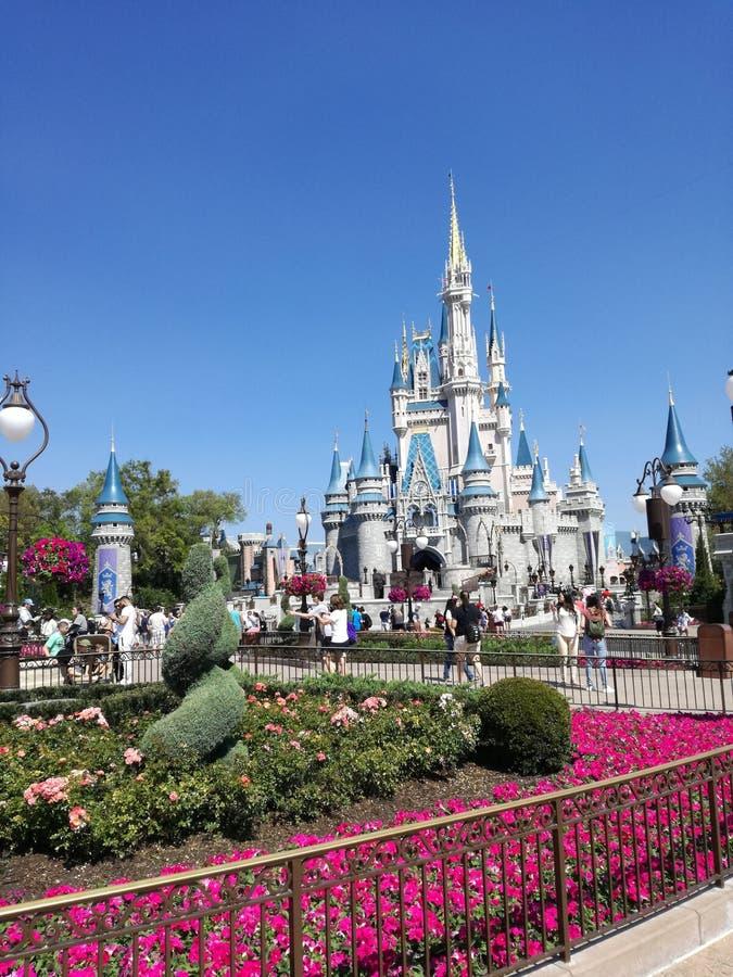 Disney Castle of Magic Kingdom royalty free stock photography