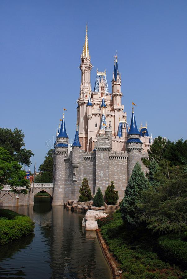 Disney Castle in magic kingdom royalty free stock image
