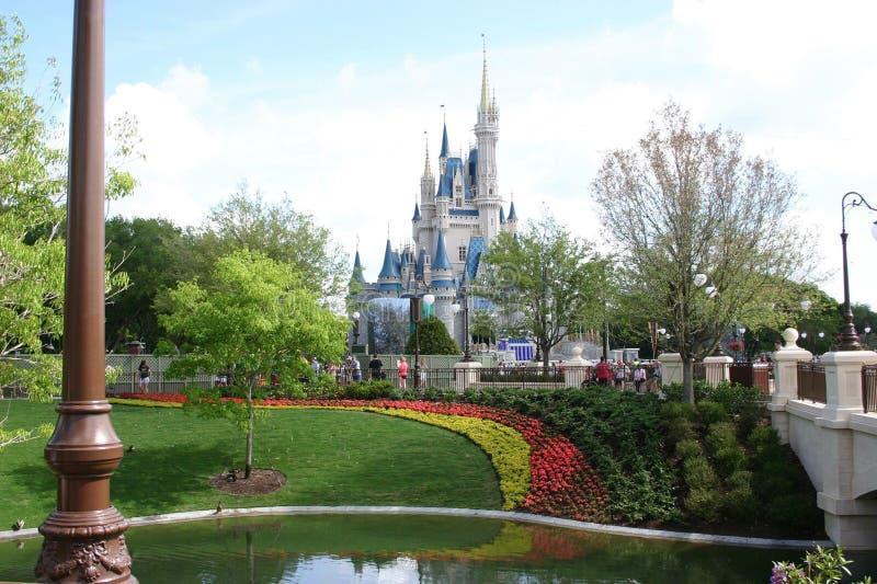 Disney castle royalty free stock photography