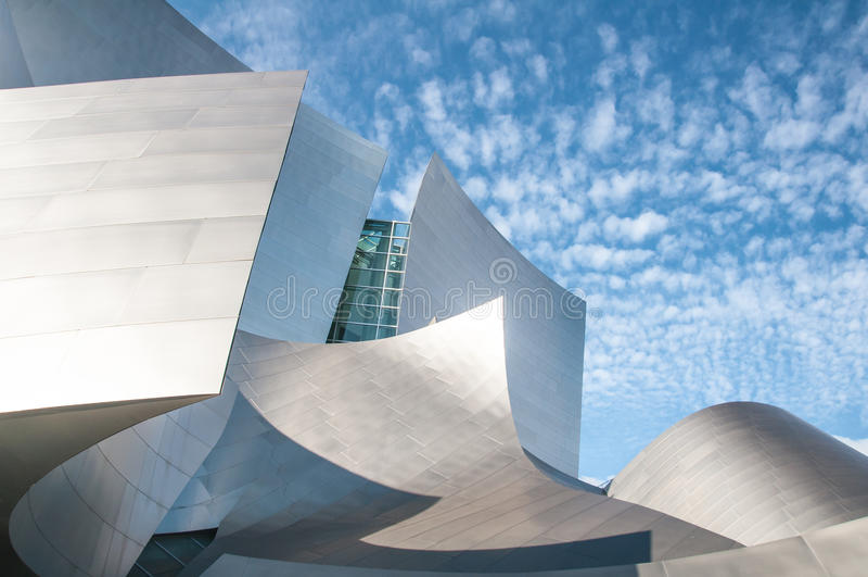Disney Concert Hall stock photography