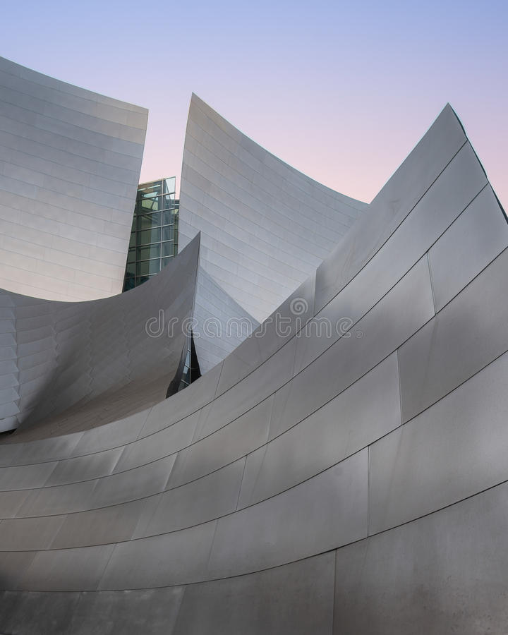 Disney Concert Hall royalty free stock photography