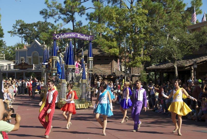 Disney défilent photo libre de droits