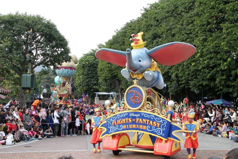 Disney défilent photographie stock libre de droits