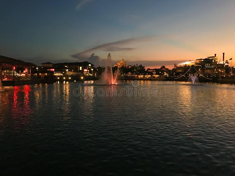 Disney-de Lentes, Orlando, Florida stock afbeelding