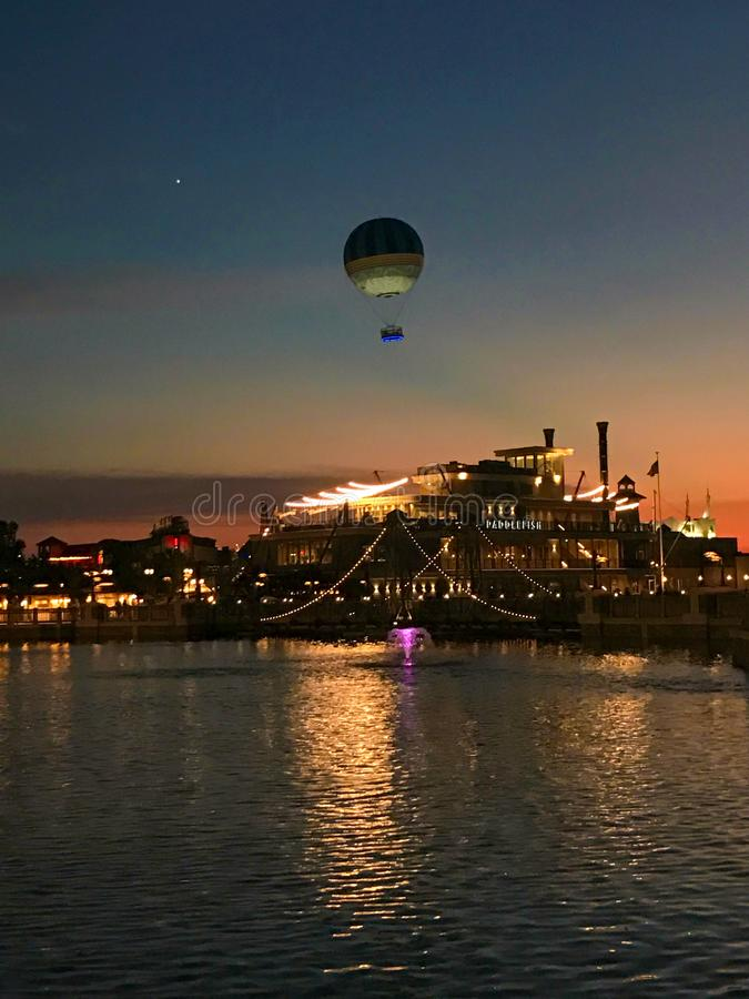 Disney-de Lentes, Orlando, Florida stock foto's