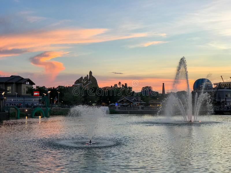 Disney-de Lentes, Orlando, Florida royalty-vrije stock fotografie