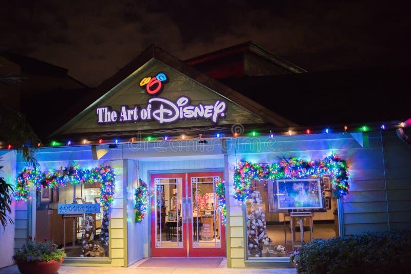 Disney-de Lentes in Walt Disney World stock afbeelding