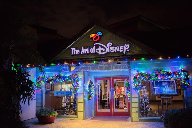 Disney-de Lentes in Walt Disney World stock foto's