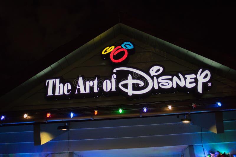 Disney-de Lentes in Walt Disney World stock foto