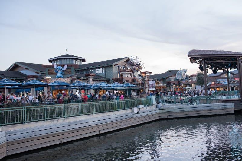 Disney-de Lentes in Walt Disney World stock afbeeldingen