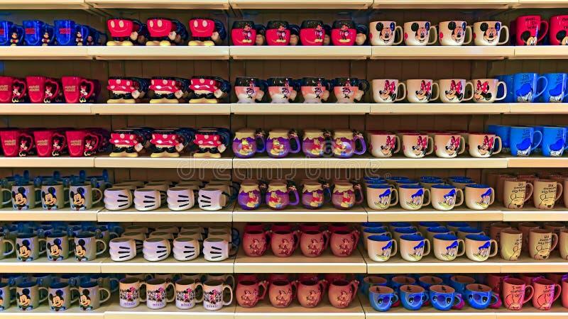 Disney drinkware royalty-vrije stock afbeeldingen