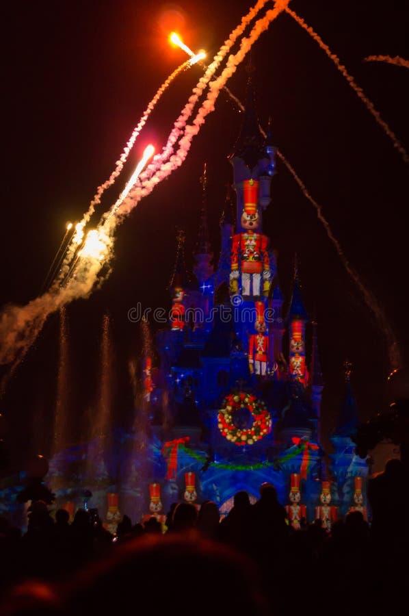 Disney-Dromen van Kerstmis royalty-vrije stock foto's
