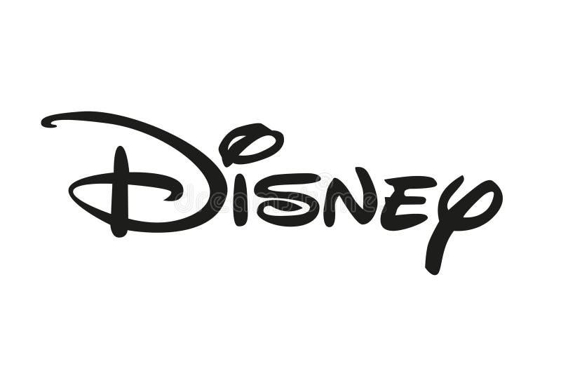 Disney-embleem royalty-vrije illustratie