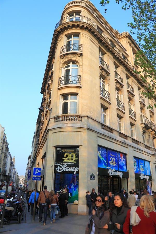 Disney enregistrent ? Paris image stock