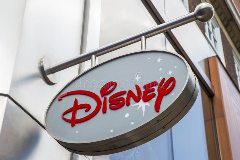 Disney entreposé à Londres photographie stock libre de droits