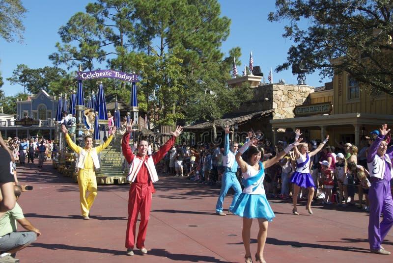 Disney führen vor lizenzfreie stockfotos
