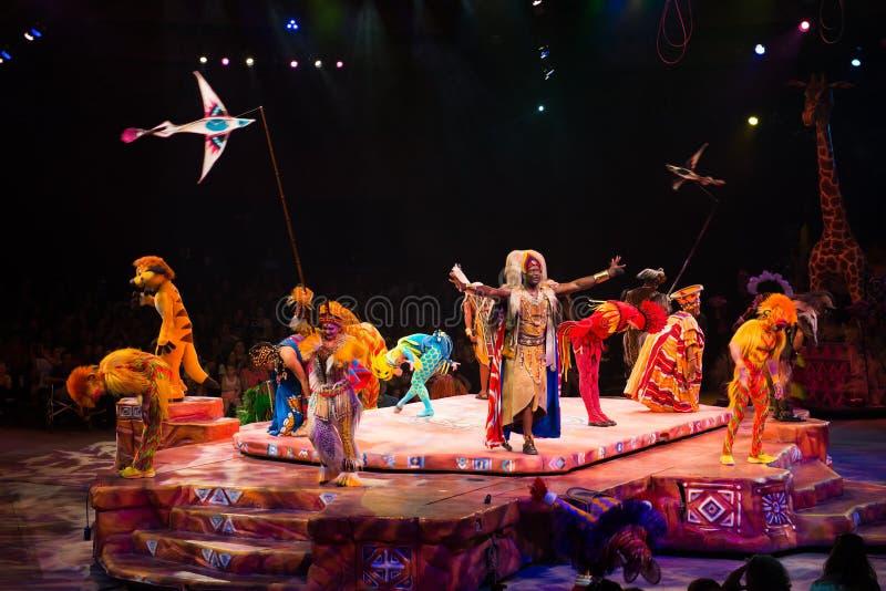 Disney festiwalu lwa Światowy królewiątko zdjęcia stock