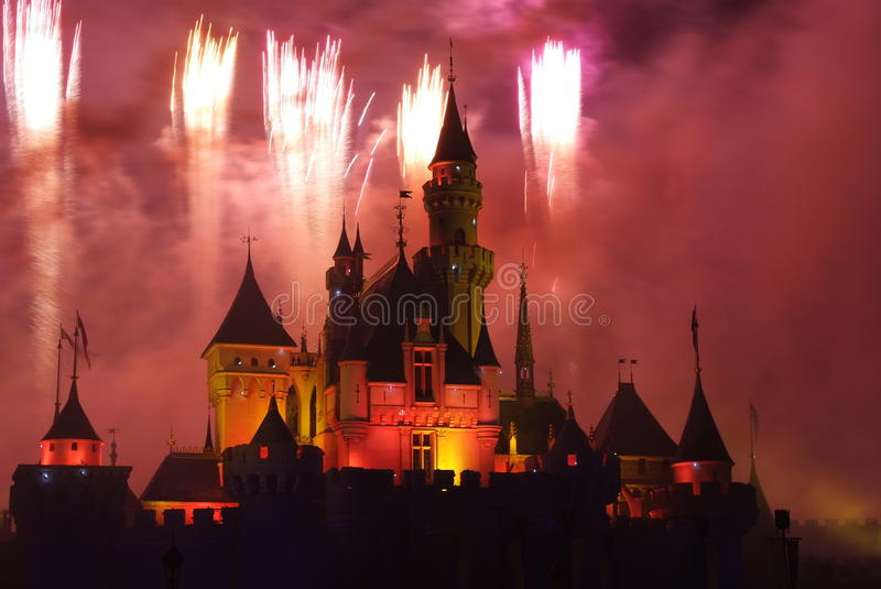 Download Disney fireworks editorial photo. Image of theme, entertainment - 24343511