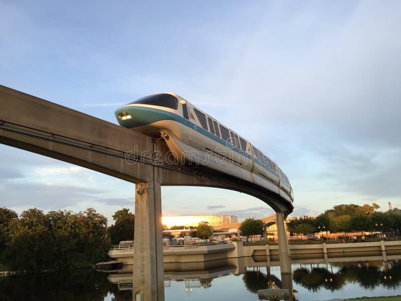Disney Florida. Back to the future stock photo