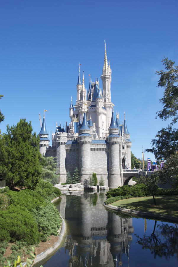 Disney fortifica fotografia stock libera da diritti