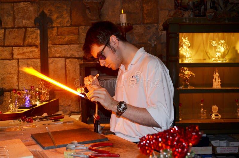 Disney-glasmaker stock fotografie