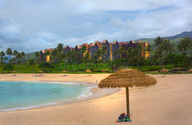 Disney Hawaii Hotel Aulani arkivfoto