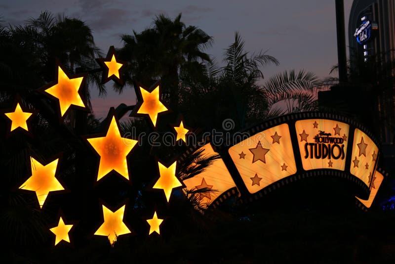disney Hollywood parkowy s szyldowy studiów temat zdjęcia stock