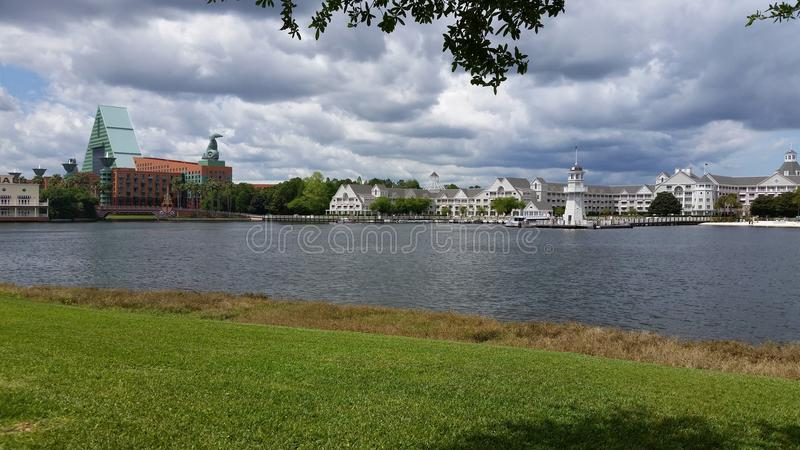 Disney world Epcot area hotels royalty free stock images