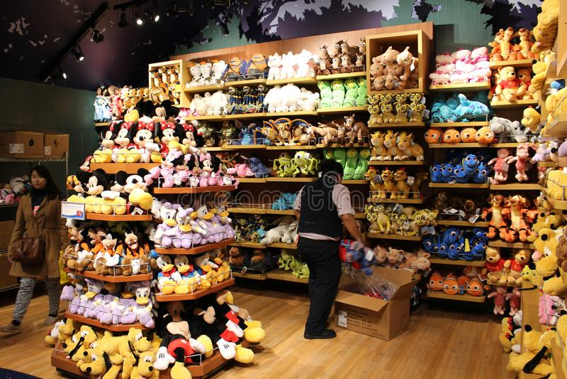 Disney immagazzina, Times Square fotografie stock libere da diritti