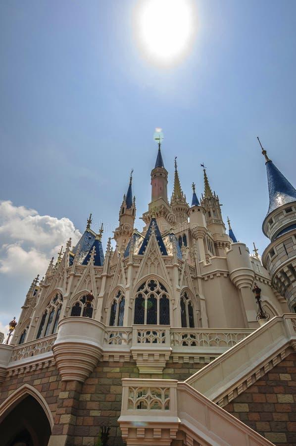 Disney Kasztel Obraz Stock Editorial