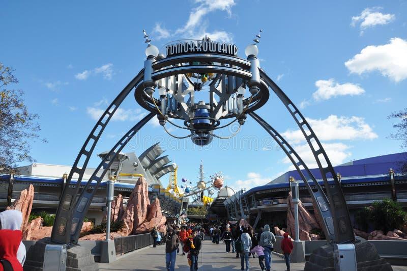 disney królestwa magiczny Orlando tomorrowland obraz royalty free