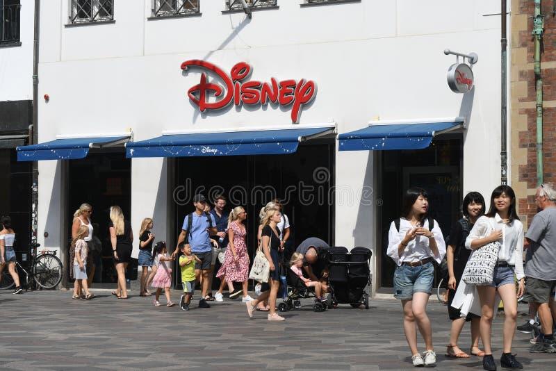 Disney lager i Köpenhamnen Denmqrk royaltyfri foto