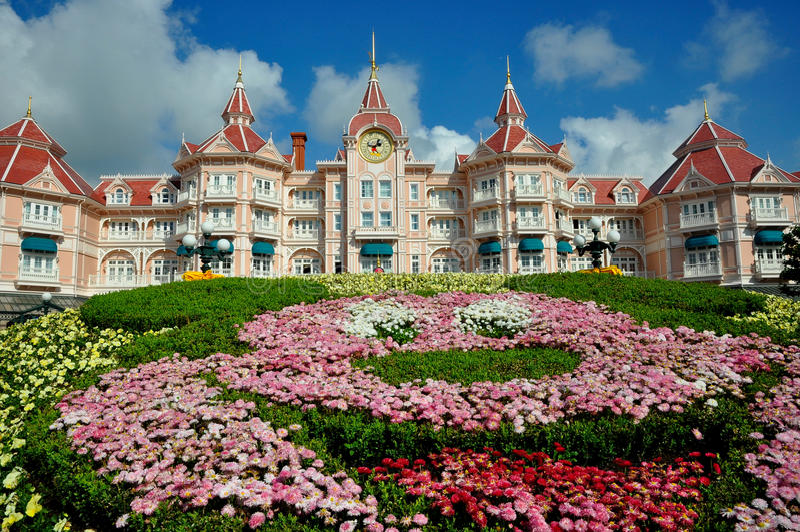 Disney land Paris arkivbild