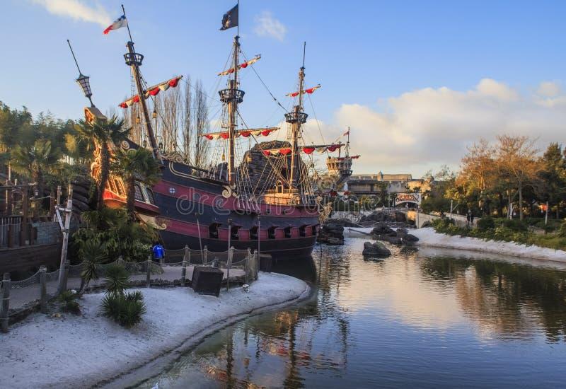 Disney land, Paris royaltyfri bild