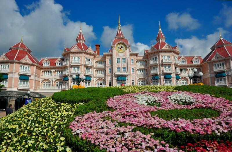 Disney land Paris royaltyfri bild