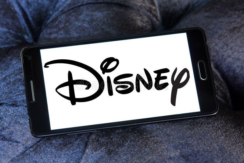 Disney logo royaltyfri fotografi