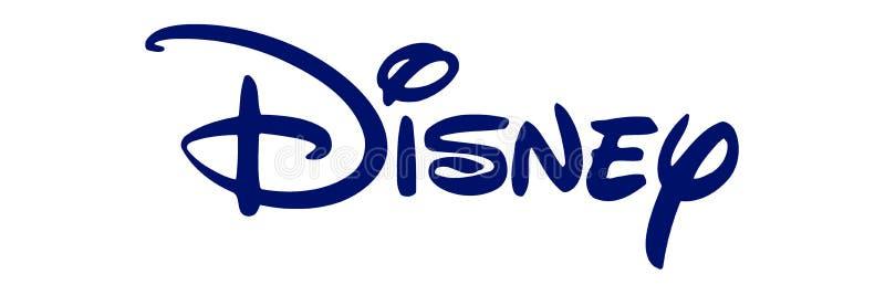 Disney logo royalty ilustracja